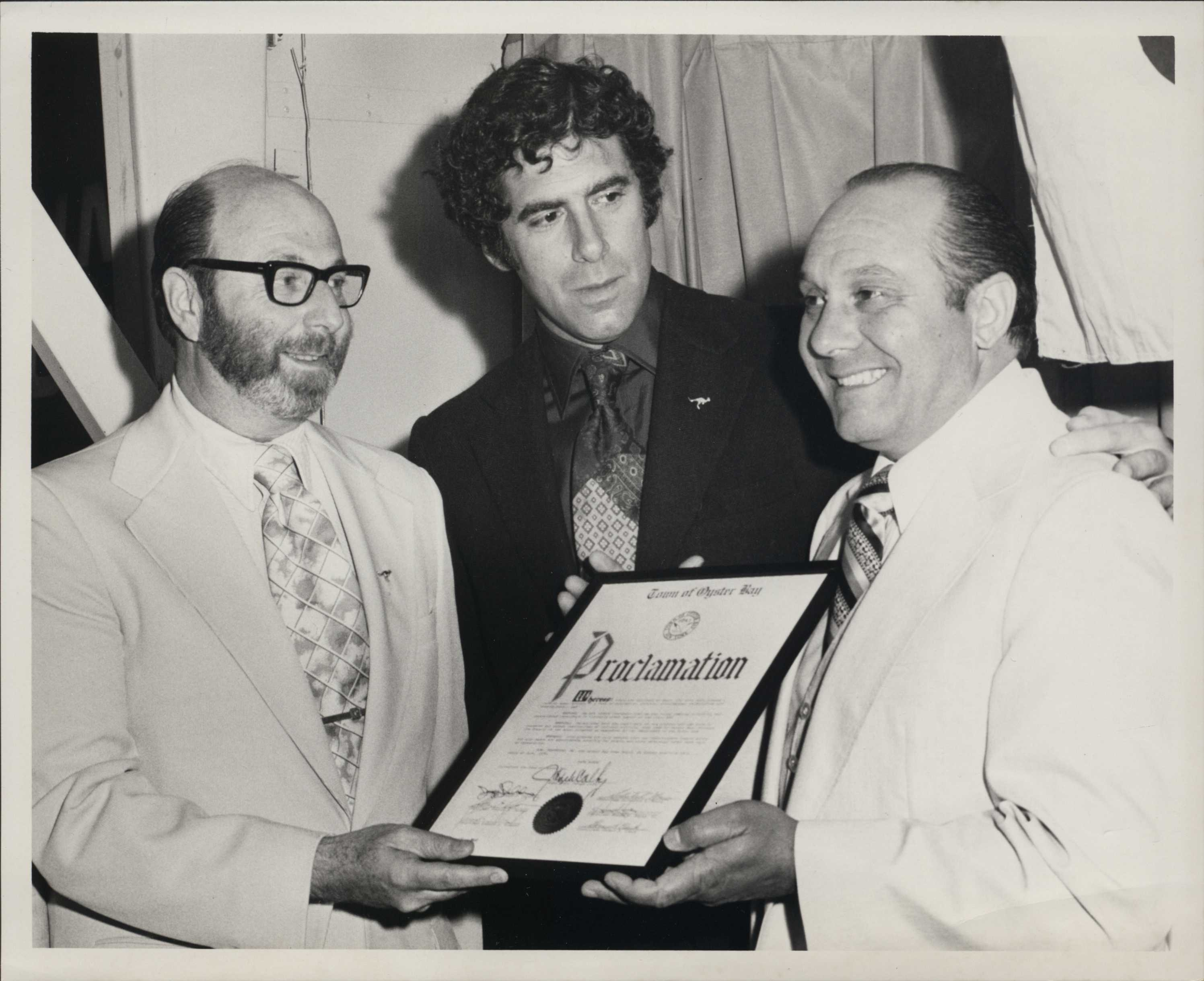 Joe Eisner, Elliot Gould, Proclamation.jpg